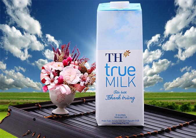 gia-1-thung-sua-TH-true-milk-co-duong-it-duong-180-ml-220-ml