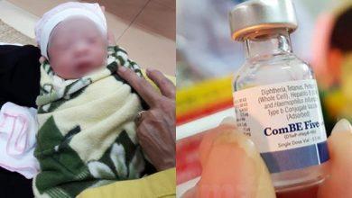 Nhiều trẻ phản ứng thuốc sau khi tiêm vắc xin 5 in 1 mới